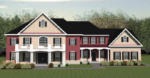 Triangle Homes Maryland Home Builder - Scarlett Floor Plan
